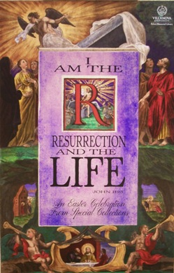 Easter I am the Resurrection poster