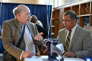 Dr. Ed Goff and Dr. Al Ortega.
