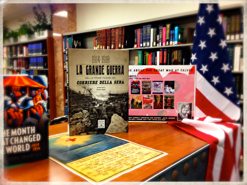 WWI CENTENNIAL EXHIBIT WILL CONTINUE THROUGH THE FALL SEMESTER