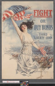 Christy, Howard Chandler, 1873-1952. Fight or buy bonds : Third Liberty Loan.. Boston, Mass.. UNT Digital Library. http://digital.library.unt.edu/ark:/67531/metadc325/. Accessed November 18, 2014.