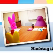 Peeps took over the study rooms...