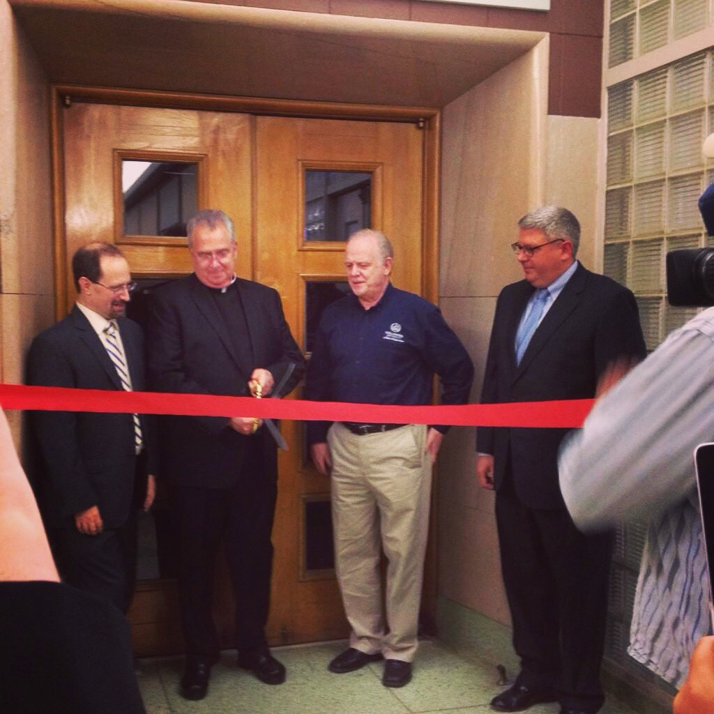 ...and the opening of the CAVE facility.