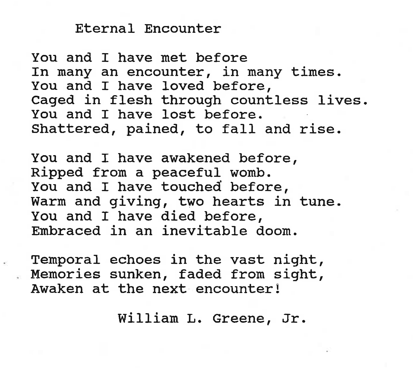 Eternal Encounter