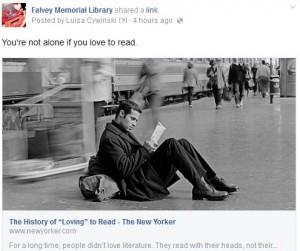 FB new yorker read
