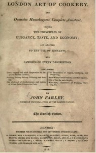 London Art of Cookery title page