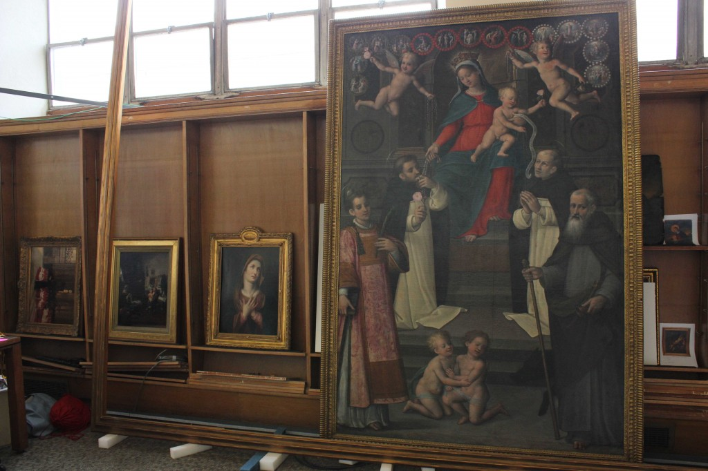 Paintings fr Ruspoli and Droutzkoy