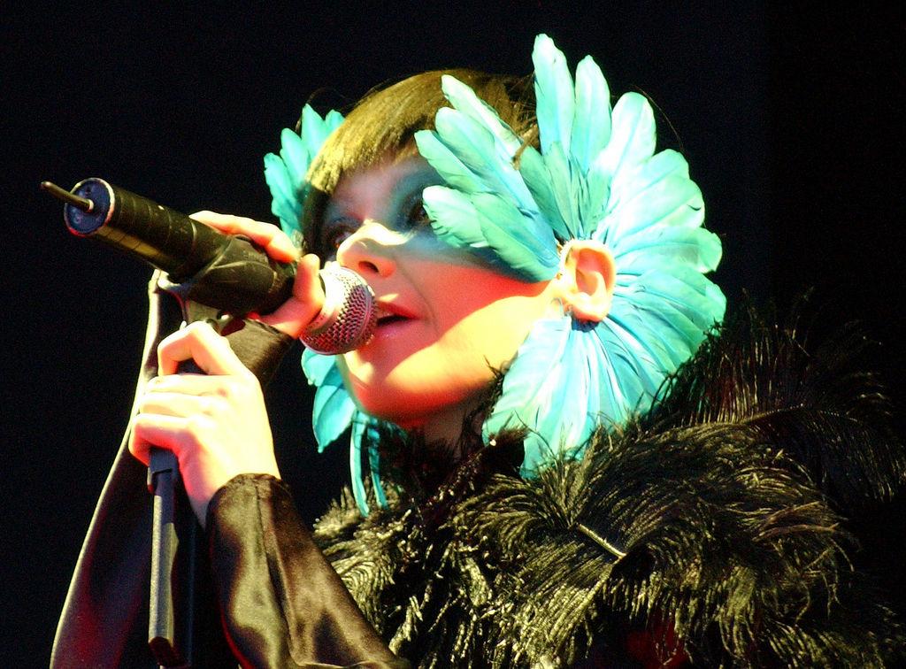 """Björk - Hurricane Festival"" by Zach Klein from New York, New York, USA - Bjork, Hurricane Festival. Licensed under CC BY 2.5 via Wikimedia Commons."