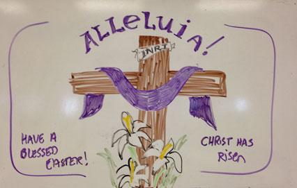 Whiteboard-Easter