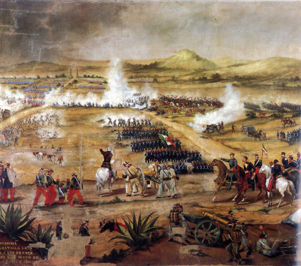 Battle of Puebla, 5 May 1862