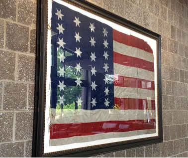 The 26 star flag was the official flag of the United States of America for eight yearsbeginning with the Statehood of Michigan in 1837 and up until 1845 with the admission of Florida into the union as our 27th state.