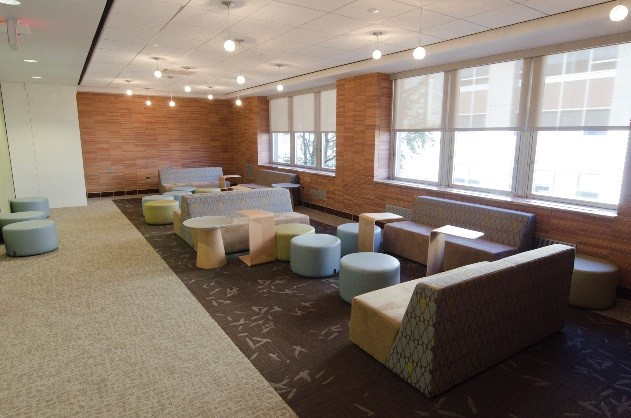 Learning Commons Lounge 2 by John Welsh