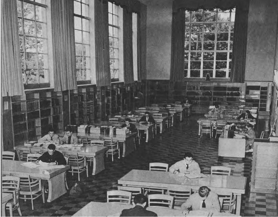 FL - Falvey Hall - Reading Room