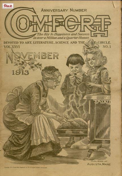 Comfort Thanksgiving 1913
