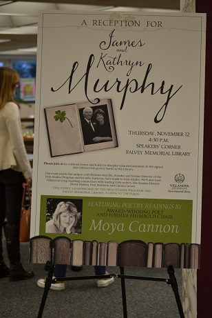 James and Kathryn Murphy Reception Poster1