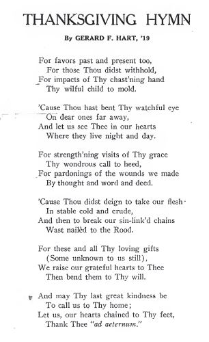 Villanovan 1916 Nov poem