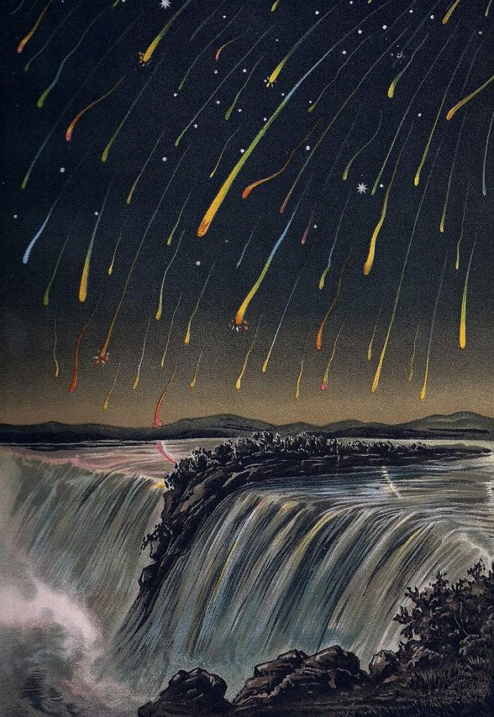 leonid meteor storm