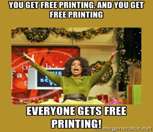 printing kallie