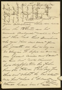 "Letter, To: ""My Dear Parents & Sisters"" From: John Alban Kite, June 10, 1883"
