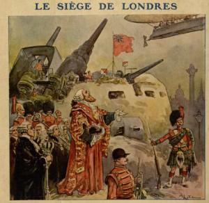 """""""Le siège de Londres"""""""
