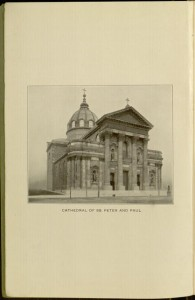 Frontispiece,  Brief history and description of the Cathedral of SS. Peter and Paul.