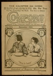 Comfort, v. XIX, no. 1, November 1906