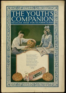 The Youth's companion : the best of American life in fiction fact and comment, v. 94, no. 43, October 21, 1920.
