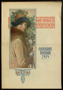 Front cover, The Youth's companion, v. 93, no. 50, December 11, 1919