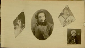 Page 5, recto, Lina and Milda Dshkalis photograph album