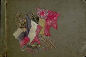 Front cover, Scrapbook, Campagne 1914