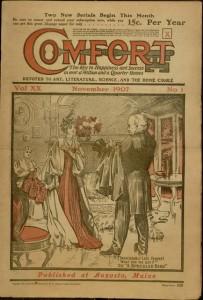 Front cover, Comfort, v. XX, no. 1, November 1907