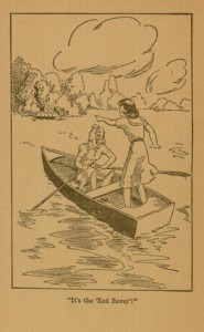 Page [4], selection, the Meadow-Brook girls afloat