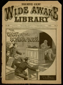 Front cover, Wide Awake Library, v. I, no. 819, March 28, 1888