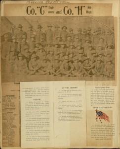 Page [86], Border War Mexican Revolution Pennsylvania Division, Camp Stewart, El Paso, Texas, Scrapbook