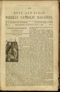 [33] p., The Boys' and Girls' Weekly Catholic Magazine, v. 1, no. 5, Saturday, July 4, 1846
