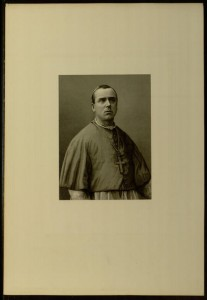 Plate, The Right Rev. P. Bourgade, D.D., Titular Bishop of Thaumacum and Vicar-Apostolic of Arizona