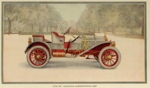 "Selection page [4]. ""Type XIV. Roadster, 30 Horse Power, $2,750"": The Autocar"