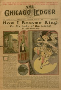 Front cover, Chicago Ledger, v. XXXVII, no. 16, Saturday, April 17, 1909