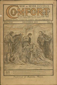 Front cover, Comfort, v. XXII, no. 2, December 1909