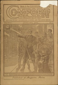 Front cover, Comfort, v. XXII, no. 3, January 1910