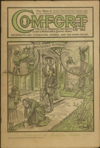 Front cover, Comfort, v. XXII, no. 5, March 1910