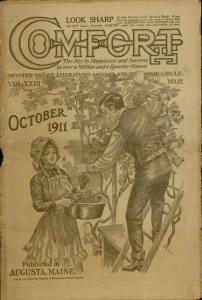Front cover, Comfort, v. XXIII, no. 12, October 1911