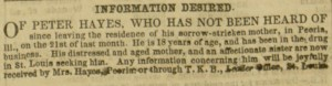 """Information Desired"", selection p.  831, The Citizen, v. 2, no. 52, December 29, 1855"