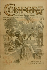 Front cover, Comfort, v. XXIII, no. 9, July 1911