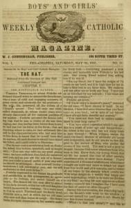 The Boys' and Girls' Weekly Catholic Magazine, v. 1, no. 51, Saturday, May 22, 1847