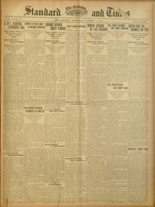 [1],  The Catholic Standard and Times, v. 22, no. 47, Saturday, October 6, 1917
