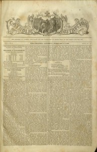 [1]. Catholic Weekly Instructor, v. 4, no. 5, February 3, 1849
