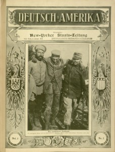 Front cover, Deutsch-Amerika, v.2, no. 2, January 8, 1916