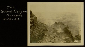 The Grand Canyon, 1924