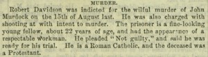 "Selection from p. 277,  ""Murder"", The Irish People, v. 2, no. 18, March 25, 1865"