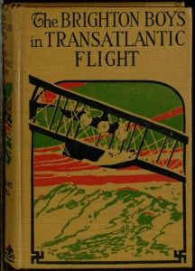 Front cover, The Brighton boys in transatlantic flight